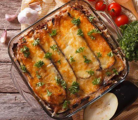 Mes recettes Cétogènes – Gratin à l'Italienne